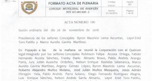 Acta 190