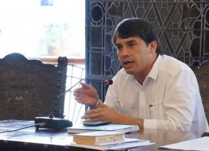 Concejal Pablo Parra