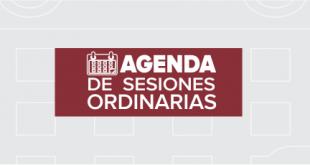 Agenda de sesiones extraordinarias: 22 de agosto