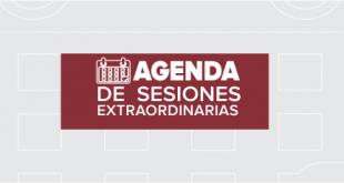 Agenda Sesiones Extraordinarias 15 de Febrero