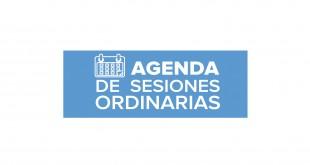 Agenda de Sesiones Ordinarias | abril 19 de 2018